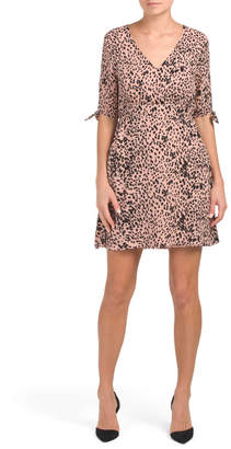 story. Your Juniors Leopard Print Dress