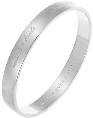 Kate Spade Idiom Bangles Bride Bangle Engraved