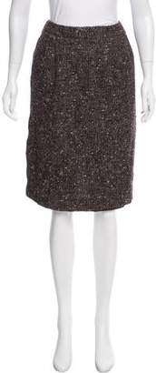 Lafayette 148 Tweed Donegal Knit Skirt