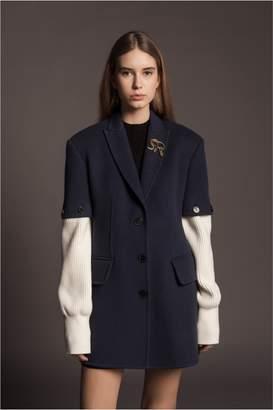 Sonia Rykiel Double-Faced Wool Coat