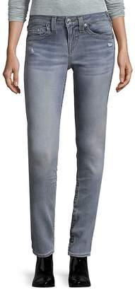 True Religion Women's Distressed Jeans - Blue, Size 28 (4-6)