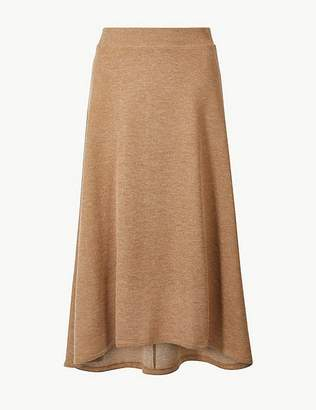 Marks and Spencer Knitted A-Line Midi Skirt