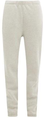 Les Tien - Fleece Backed Cotton Track Pants - Womens - Grey