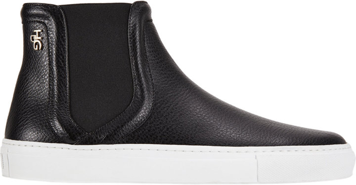 Givenchy Pull-On High-Top Sneakers