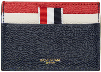 Thom Browne Tricolor Stripe Card Holder $270 thestylecure.com