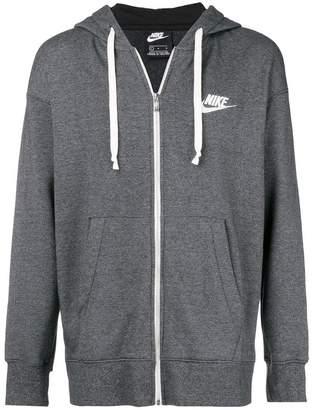 Nike classic zipped hoodie
