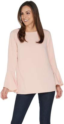 Linea By Louis Dell'olio by Louis Dell'Olio Pullover Blouse with Sleeve Detail
