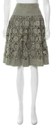 Philosophy di Alberta Ferretti Patterned Flare Skirt