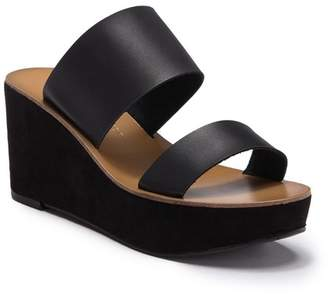 40e3de152b7 Chinese Laundry Black Platform Wedge Women s Sandals - ShopStyle