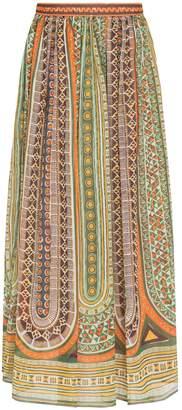 Valentino Tribal Printed Skirt