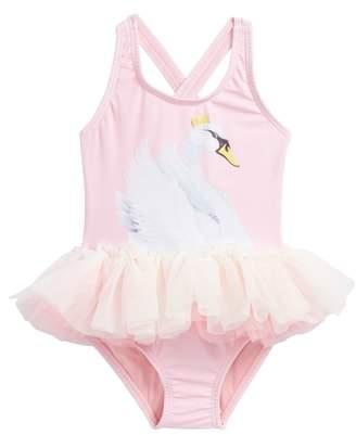 Rock Your Baby Swan Lake Tulle Tutu Bodysuit
