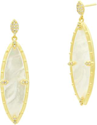 Freida Rothman Color Theory Marquise Drop Earrings