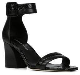 Donald J Pliner Watson Leather Sandals