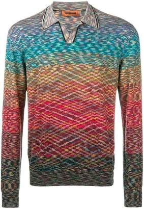 Missoni rainbow jumper