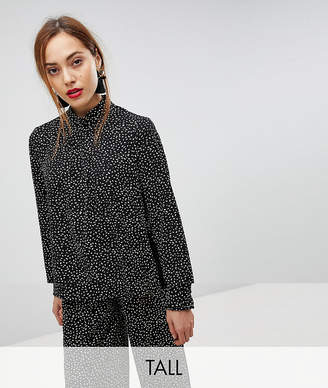 Y.A.S Tall Printed High Neck Top