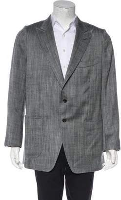 Tom Ford Silk & Mohair Deconstructed Blazer