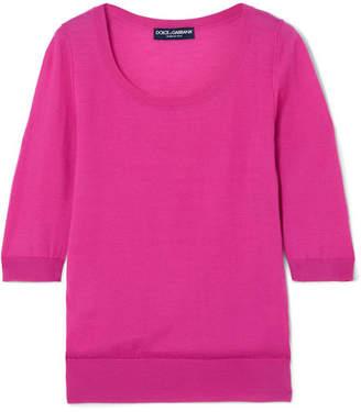 Dolce & Gabbana Cashmere Sweater - Fuchsia