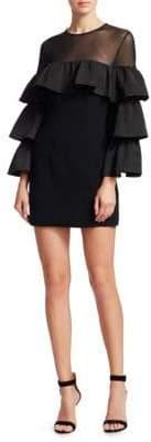 Cinq à Sept Valentina Tiered Sleeve Mini Dress