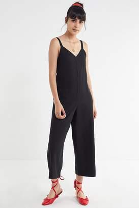 Urban Outfitters Marta Linen Side Button Jumpsuit