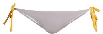 Roxana Salehoun - Tie Side Bikini Briefs - Womens - Light Purple