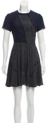 Proenza Schouler Striped Silk Dress