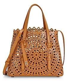 Alaia Women's Mini Mina Vienne Leather Tote