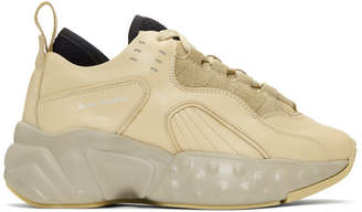 Acne Studios Beige Manhattan Sneakers