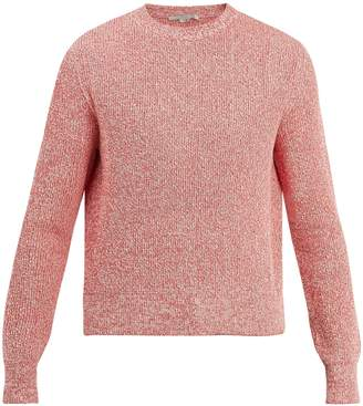 Stella McCartney Crew-neck ribbed-knit cotton sweater