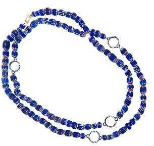 Armenta Beaded Century Diamond Circle Chain - 40