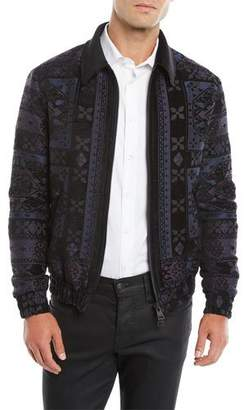 Etro Men's Wool Bomber Jacket