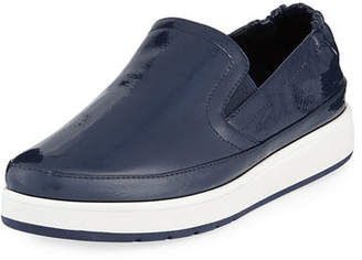 Donald J Pliner Martyn Walking Patent Sneakers