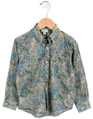 Papo d'Anjo Boys' Button-Up Shirt