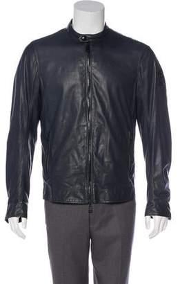 Belstaff Leather Reversible Jacket