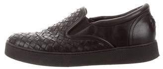 Bottega Veneta Intrecciato Slip-On Sneakers