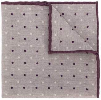 Eleventy polka dot patterned handkerchief