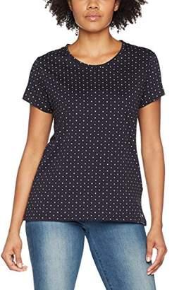 Gant Women's Dot Print T-Shirt (Evening Blue), (Size: M)