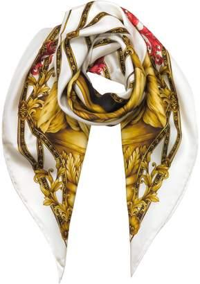 Versace Heritage Ganimede Twill Silk Square Scarf