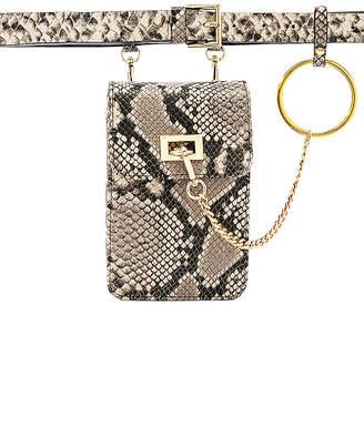 B-Low the Belt Ari Python Belt Bag