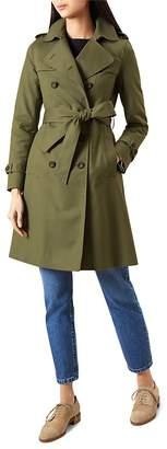HOBBS LONDON Saskia Trench Coat $380 thestylecure.com