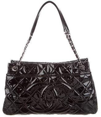 Chanel Patent Leather Timeless Shopper Tote
