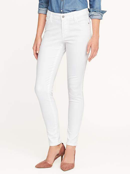 Old Navy Mid-Rise Clean Slate Rockstar Skinny Jeans for Women