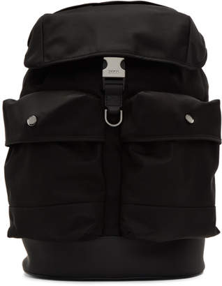 BOSS Black Multi-Pocket Backpack