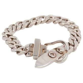 Hermes Ceinture silver bracelet