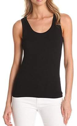 Generic Women's Sleeveless Body Shaper Compression Tank Top - Black XL