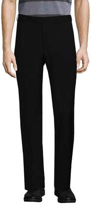 Isaia Men's Solid Wool Trousers