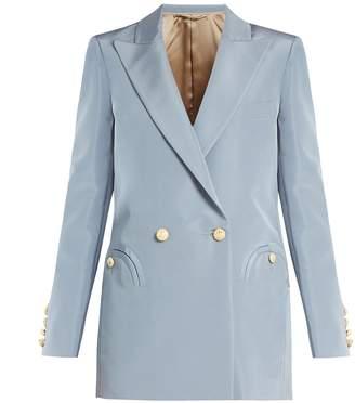 BLAZÉ MILANO Shamrock Everyday silk-faille blazer $1,508 thestylecure.com