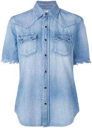 Saint Laurent basic denim shirt