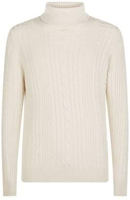 Johnstons of Elgin Cashmere Turtleneck Sweater