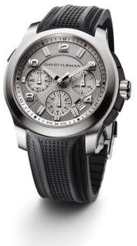 David Yurman Davidyurman Revolution 43.5Mm Stainless Steel Chronograph Watch