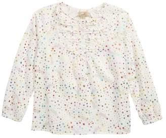 Peek Eve Ruffle Star Top (Toddler Girls, Little Girls & Big Girls)
